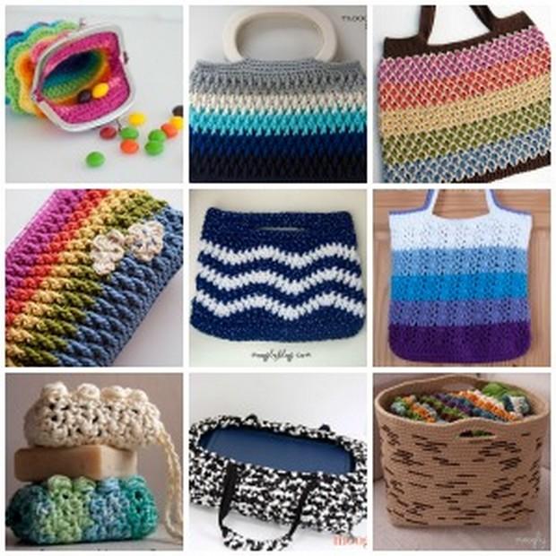 Como Hacer Bolsas de Crochet Manualidades Y DIYManualidades Y DIY
