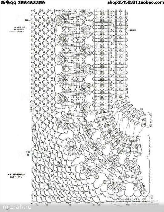 Blusa en crochet con patrones - Manualidades Y DIYManualidades Y DIY