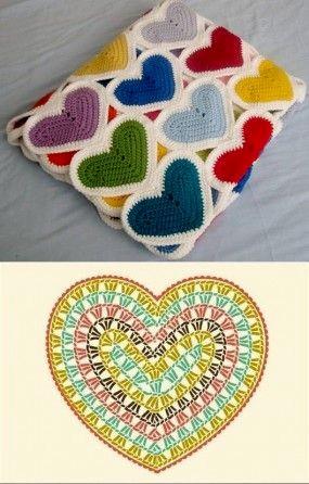 crochet hearts (2)