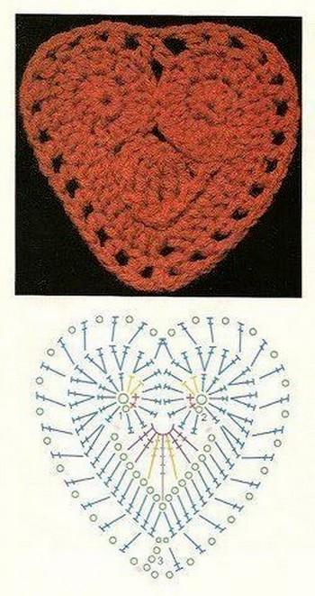 crochet hearts (27)