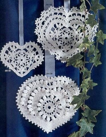 crochet hearts (30)
