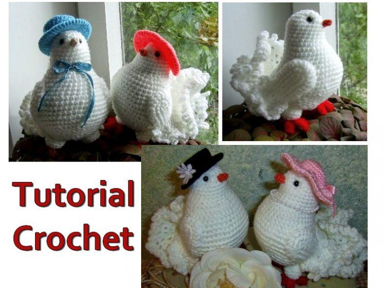 Fantástica Paloma en Crochet - Tutorial - Manualidades Y ...