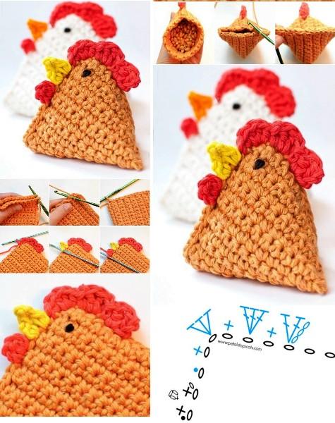 Crochet f cil 30 ideas paso a paso manualidades y - Manualidades a crochet paso a paso ...