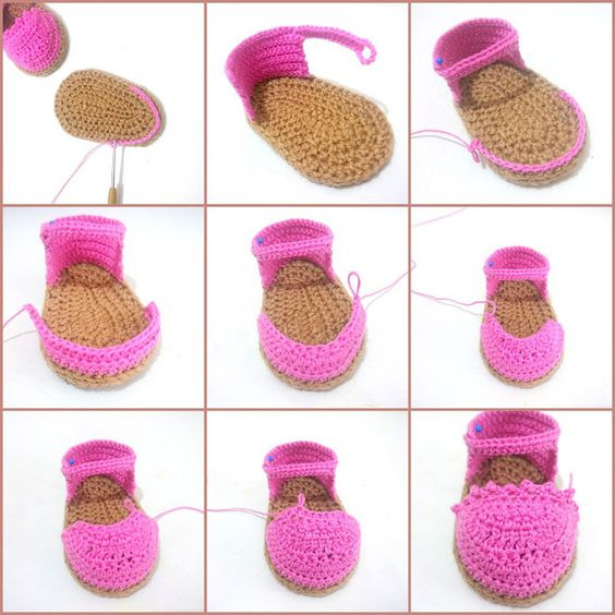 40 Cosas para el Bebé en Crochet - Patrones ⋆ Manualidades Y ...