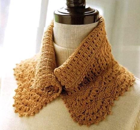 Bufandas tejidas 2017 crochet