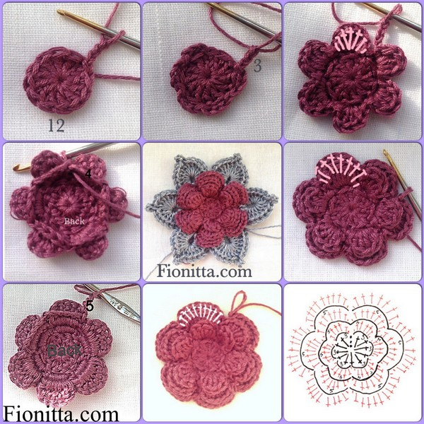 crochet flower pattern (16)
