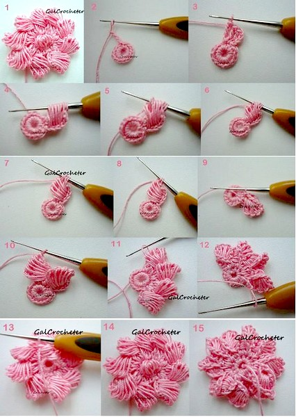 crochet flower pattern (30)