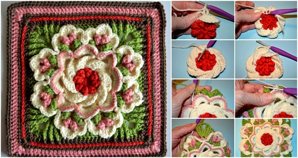 crochet flower pattern (9)