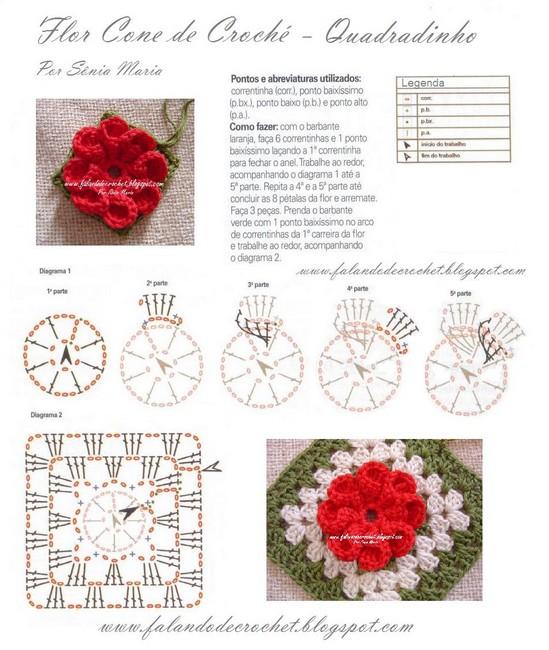 50 Agarraderas Tejidas a Crochet para Cocina ⋆ Manualidades Y ...