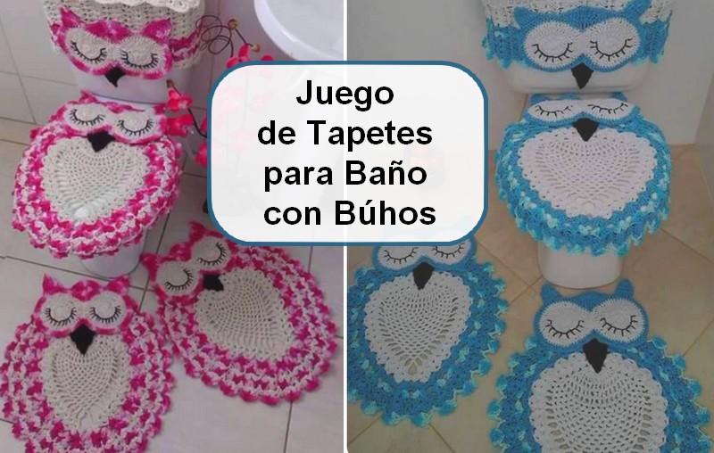 Juegos De Baño A Crochet Con Patrones ~ Dikidu.com