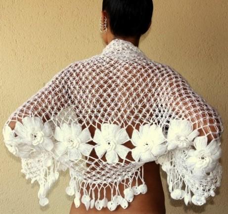 Bufandas a crochet patrones gratis