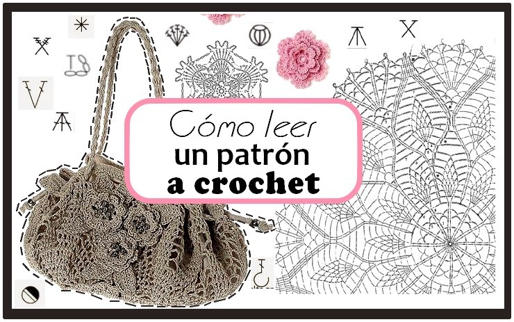 Aprender a leer graficos de crochet ⋆ Manualidades Y ...