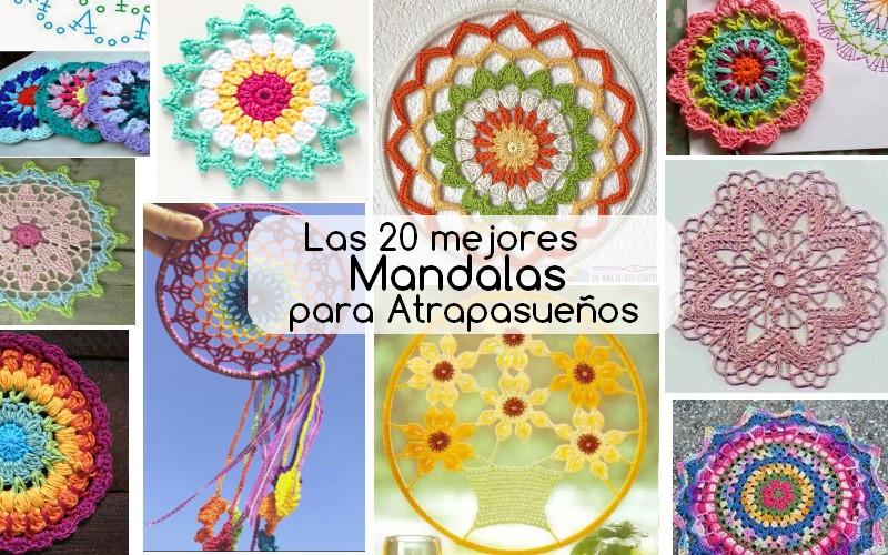 mandalas crochet atrapasuenos espanhol