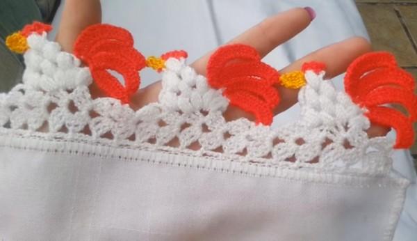 4 magn ficas puntillas en crochet tutorial en v deo - Hacer puntillas de ganchillo ...