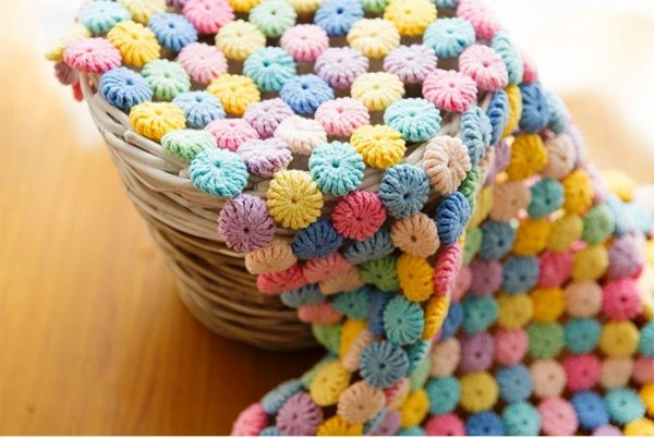 Crochet Yoyos : Punto flor yo-yo al crochet / Video y tutorial - Manualidades Y ...
