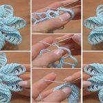 Crochet-Folded-Petal-Flower-Video