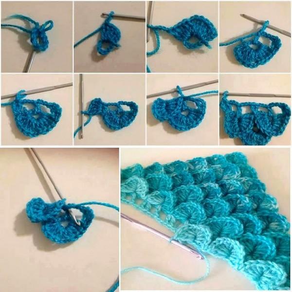 cómo-tejer-a-crochet-el-punto-cocodrilo-o-escamas (4)
