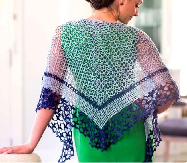 chales en crochet patrones (10)