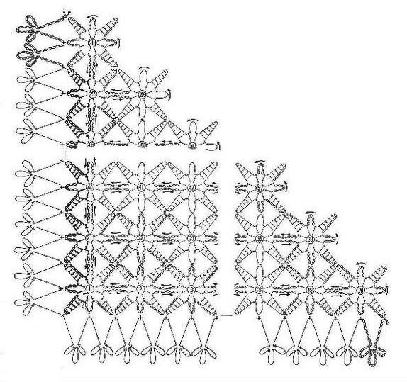 chales en crochet patrones (17)