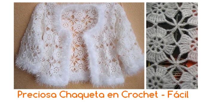 chaqueta crochet espanhol
