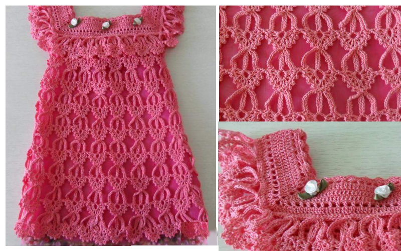 crochet vestido nina