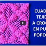cuadro tejido a crochet
