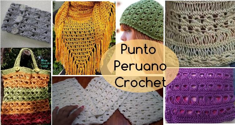 punto peruano crochet
