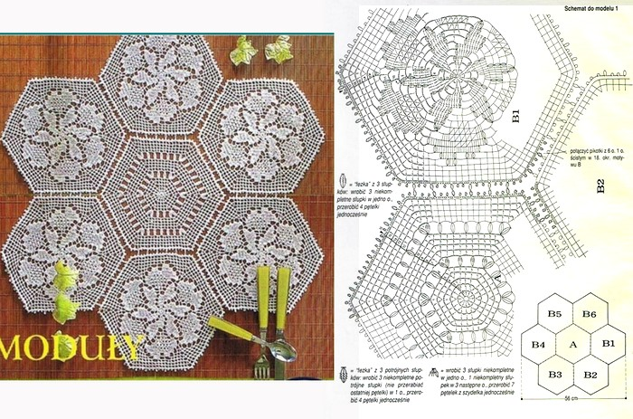 18 patrones maravillosos de centros de mesa en ganchillo ...