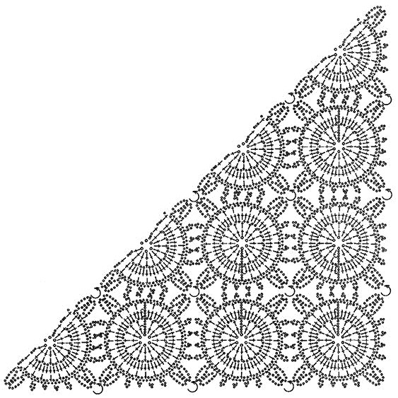Patron de Chal en Crochet para lucir hermosa! ⋆ Manualidades Y ...