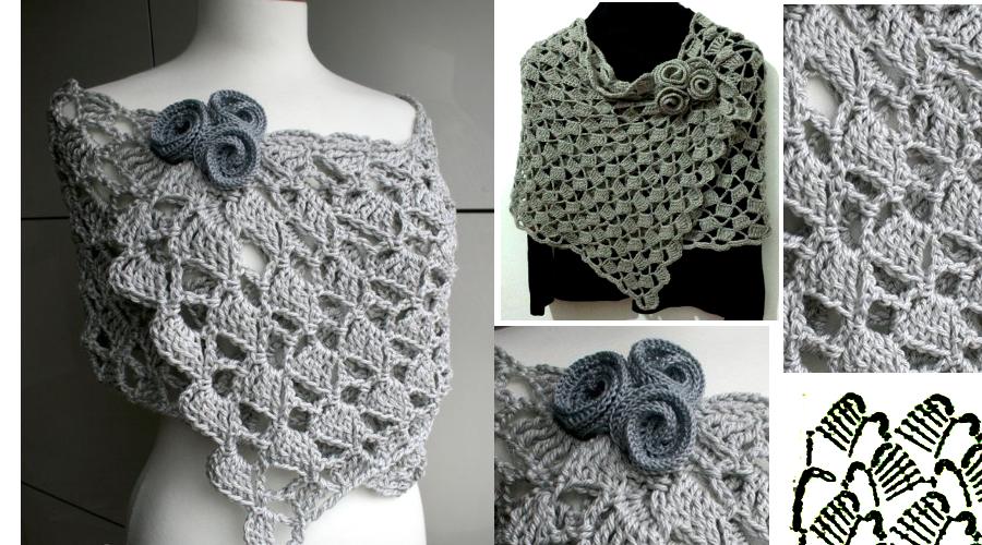 Elegante y sencilla Bufanda en Crochet ⋆ Manualidades Y ...
