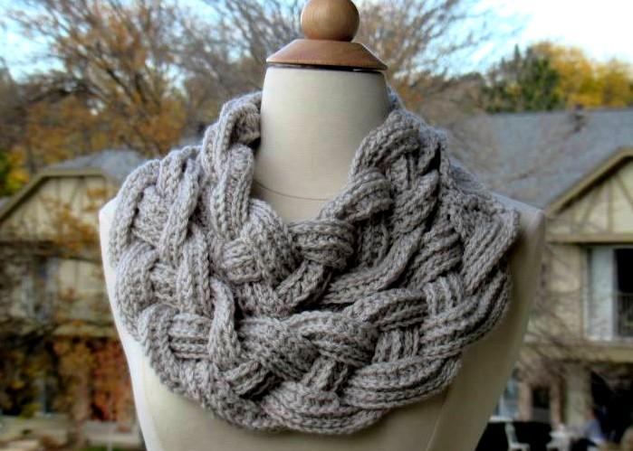 Bufanda retorcida en crochet fácil - Manualidades Y DIYManualidades ...