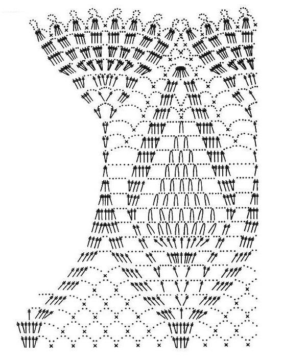 Hermosa capita en crochet con patrones ⋆ Manualidades Y ...