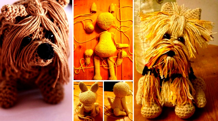 perro yorkshire crochet