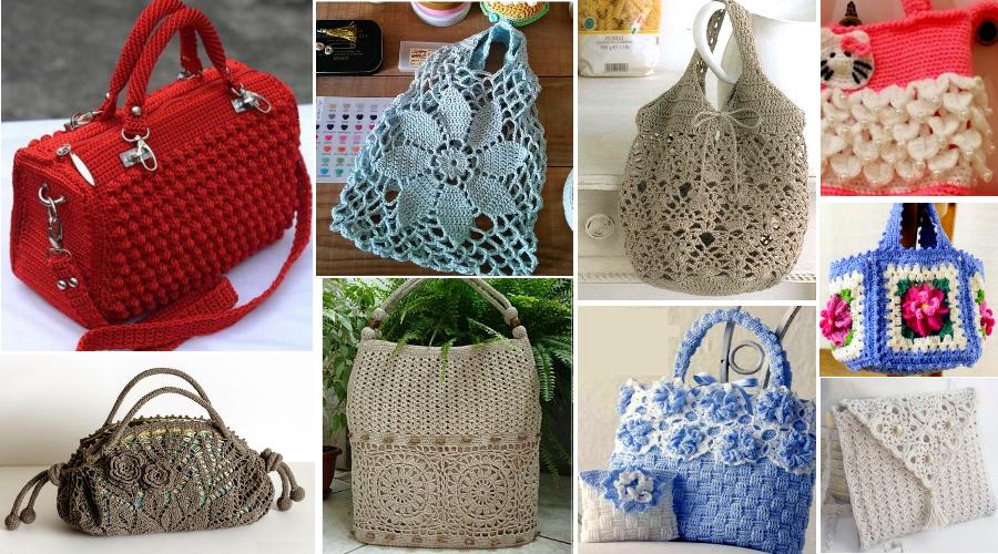 bolsos de moda crochet ile ilgili görsel sonucu