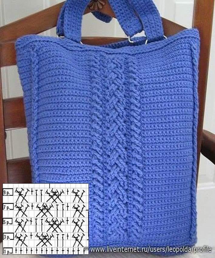 12 Encantadores Bolsos en Crochet con Patrones ⋆ Manualidades Y ...