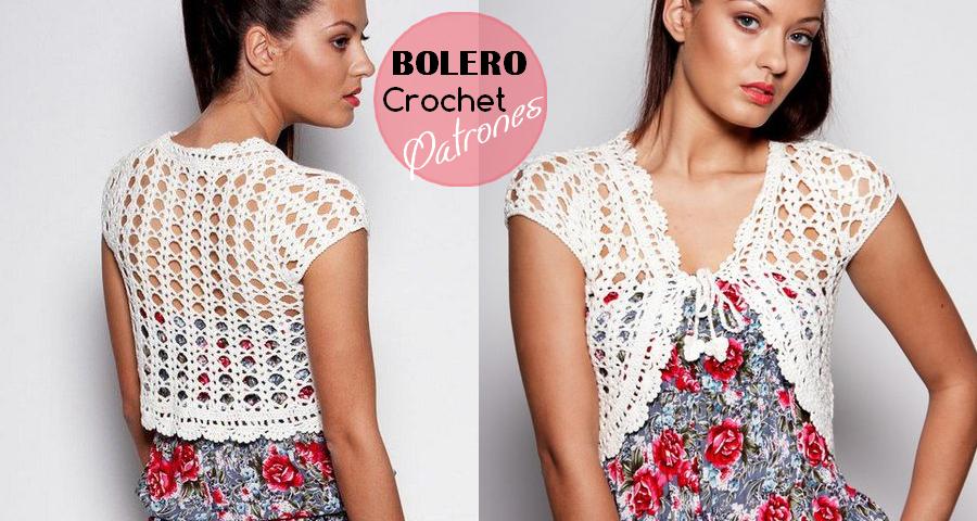Bello bolero a crochet con patrones - Manualidades Y DIYManualidades ...