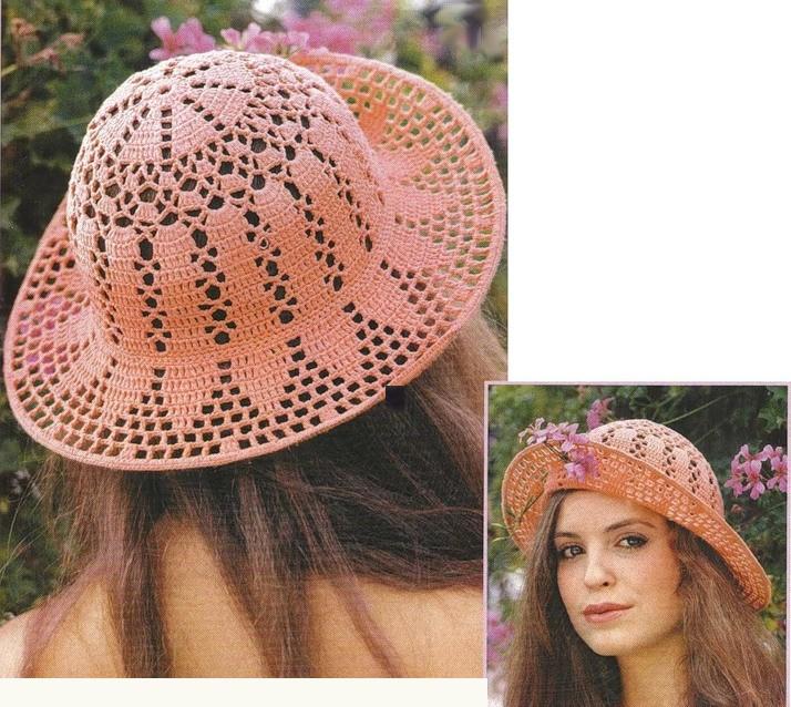 Atractivo Patrones Sombreros Del Ganchillo Motivo - Ideas de ...