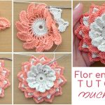 flor crochet tutorial