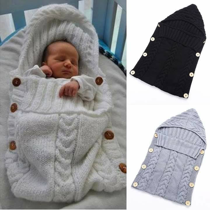 Único Bebé Libre Patrón De Capullo De Tejer Ornamento - Manta de ...