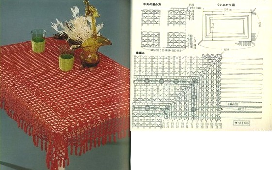 18 Manteles A Crochet Patrones Gratis Manualidades Y Diymanualidades Y Diy
