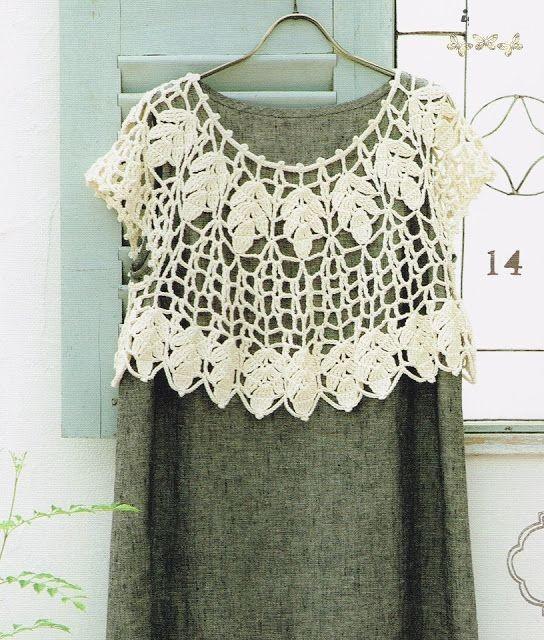 Chalinas O Capas Tejidas A Crochet ⋆ Manualidades Y