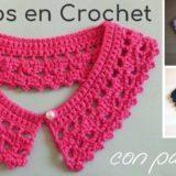 cuellos crochet patrones