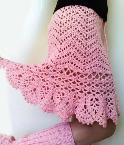 10 Faldas Tejidas a Crochet para Mujer ⋆ Manualidades Y ...