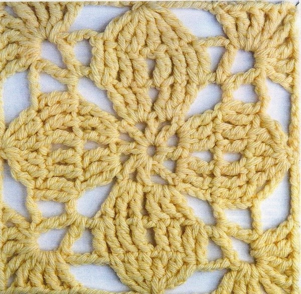 Como Hacer un Chal Rectangular en Crochet Fácil - Manualidades Y ...