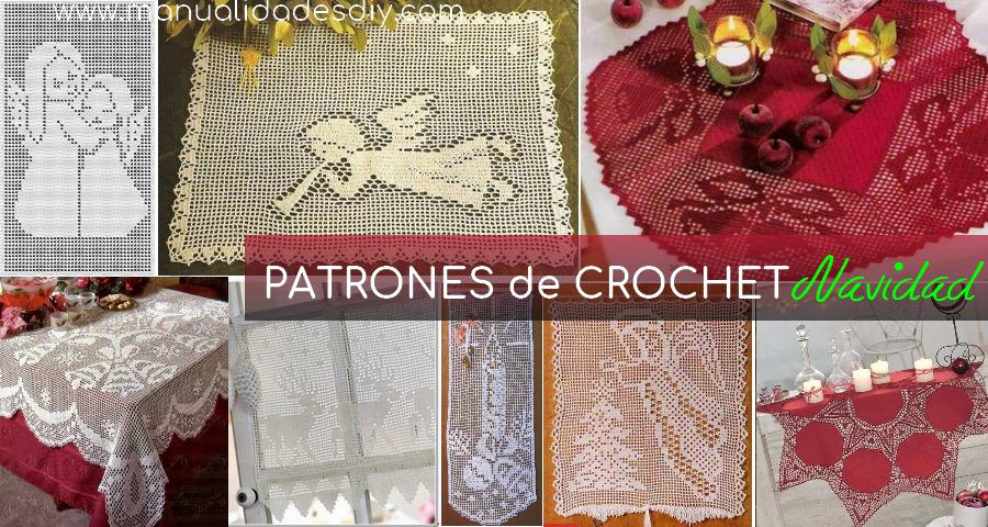 15 PATRONES de CROCHET para NAVIDAD - Manualidades Y DIYManualidades ...