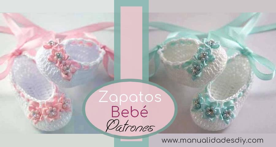 Zapatitos de Bebé a Crochet Faciles ⋆ Manualidades Y ...