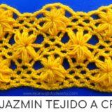 punto jazmin crochet