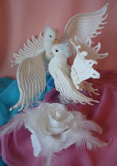 Mis palomas en crochet - ¿Quieres hacerlas? - Paso a paso grátis ...