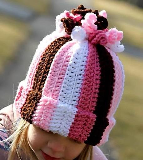 b01129e59fd7e 8 Maravillosos Gorros a crochet para niños y bebés ⋆ Manualidades Y ...