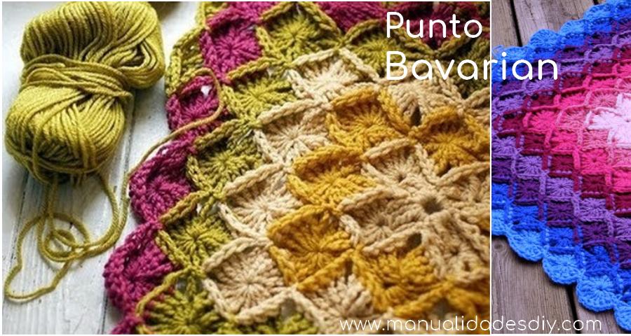 Cómo tejer Bavarian a Crochet - Tutorial paso a paso, graficos y ...